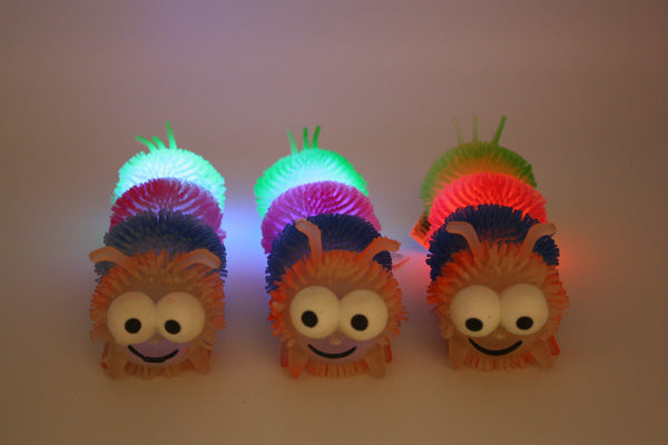 Great Glowing Caterpillar - Three LiL Monkeys Three LiL Monkeys