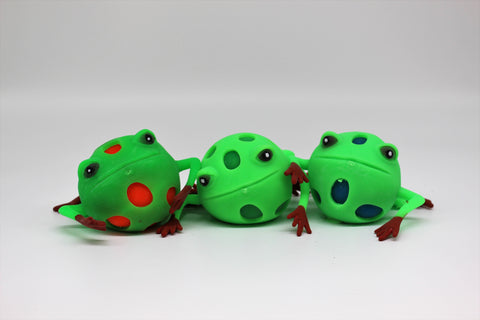 Frog Squish Ball - Three LiL Monkeys Three LiL Monkeys