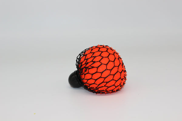 Neon Mesh Squish Ball - Three LiL Monkeys Three LiL Monkeys