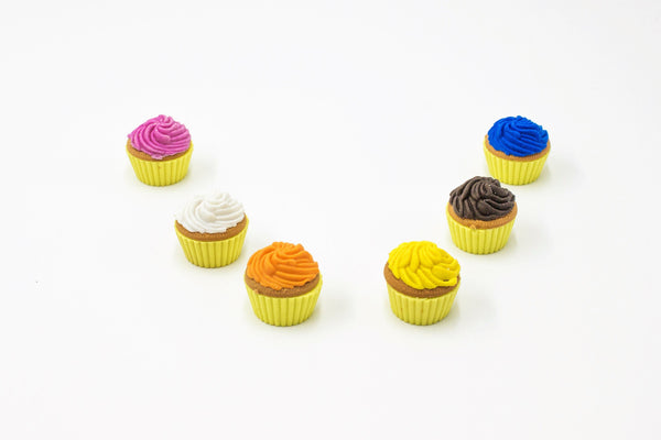 Scented Cupcake Erasers - Three LiL Monkeys Three LiL Monkeys