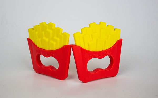 French Fry Teether - Three LiL Monkeys Three LiL Monkeys