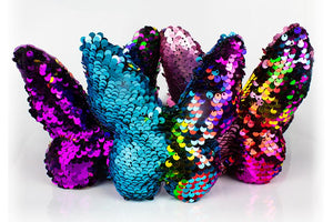 Mermaid Sequin Butterfly Pillow - Three LiL Monkeys Three LiL Monkeys