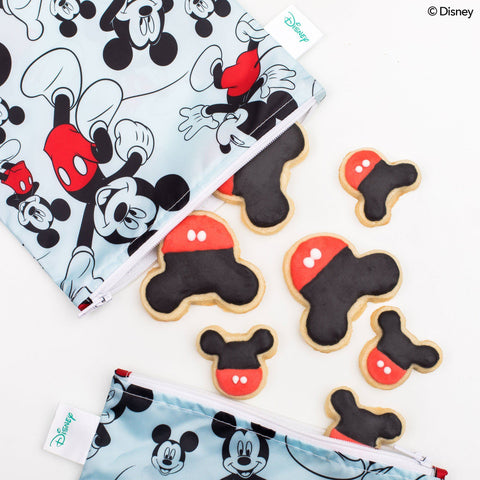 Mickey Mouse Reusable Snack Bag - Three LiL Monkeys Three LiL Monkeys