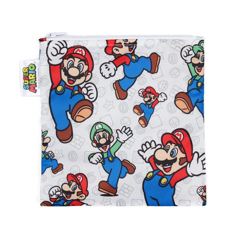 Nintendo Reusable Snack Bag Super Mario - Three LiL Monkeys Three LiL Monkeys