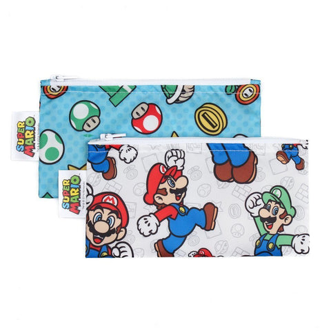 Nintendo and Super Mario 2 pack Snack Bag - Three LiL Monkeys Three LiL Monkeys