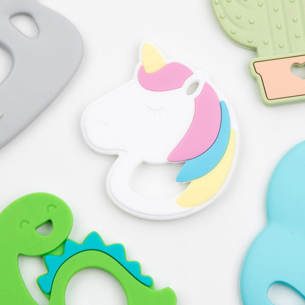 Unicorn Teether - Three LiL Monkeys Three LiL Monkeys