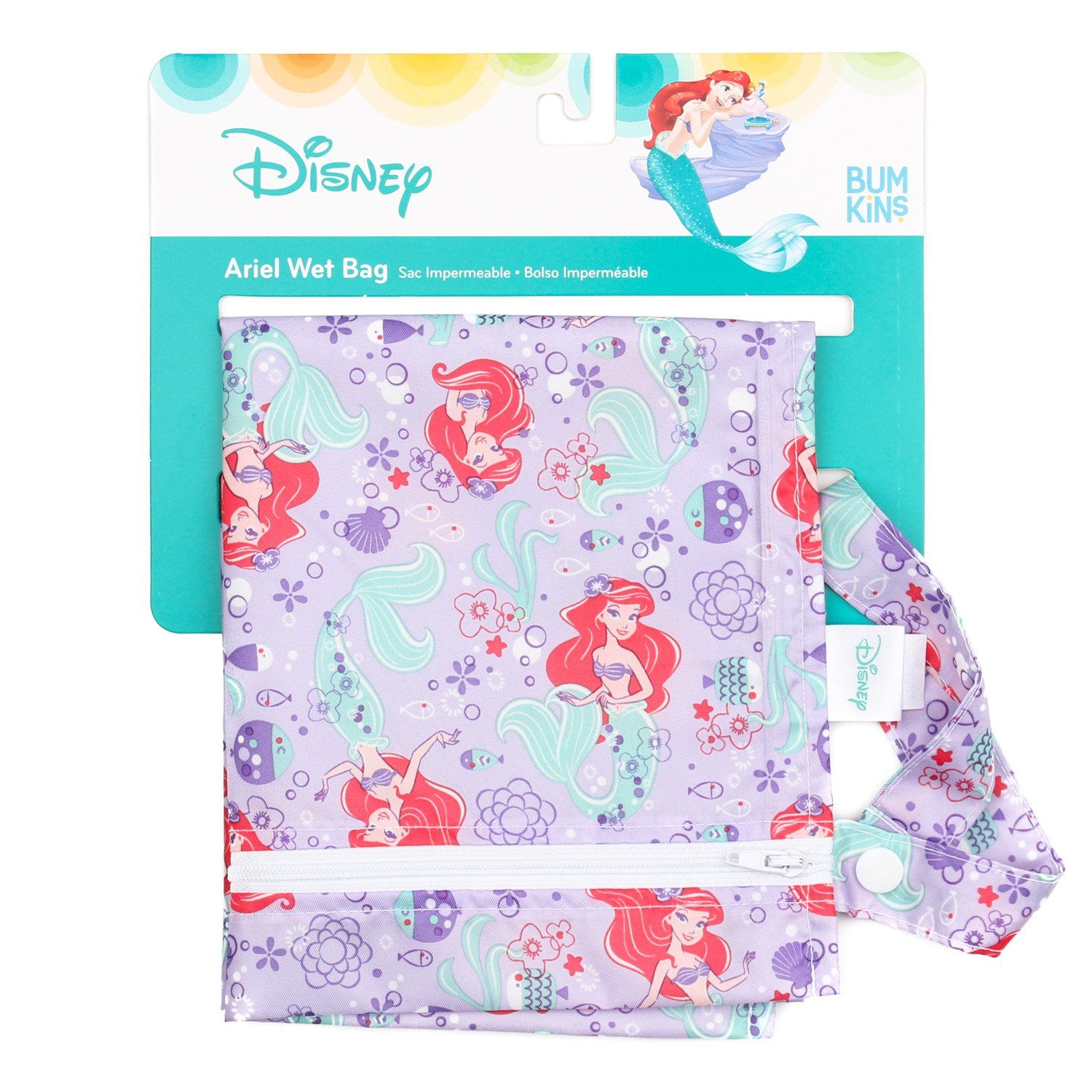 Disney Ariel Wet Bag - Three LiL Monkeys Three LiL Monkeys