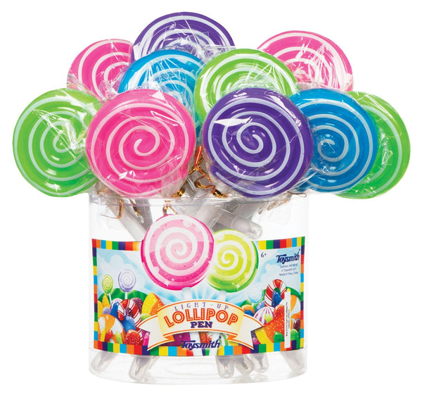 Light Up Lollipop Pen - Three LiL Monkeys Three LiL Monkeys
