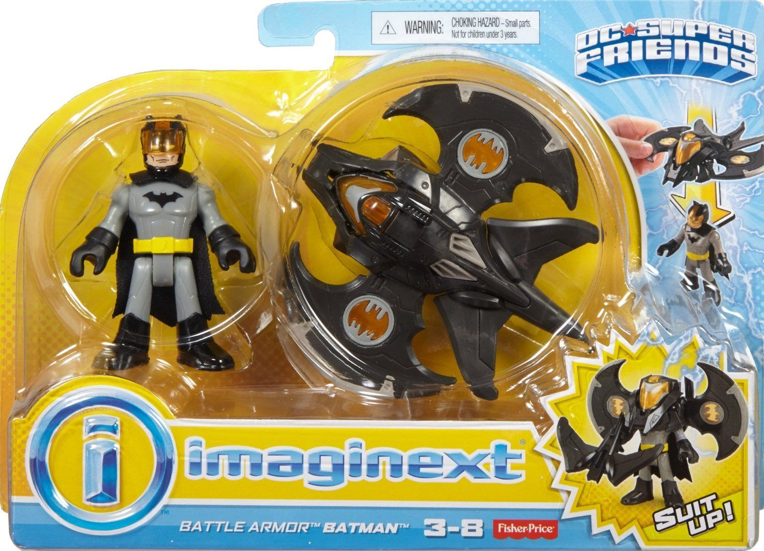 Imaginext DC Super Friends Battel Armor Batman - Three LiL Monkeys Three LiL Monkeys