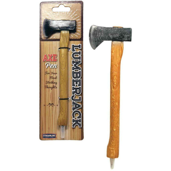 LumberJack Axe Pen - Three LiL Monkeys Three LiL Monkeys
