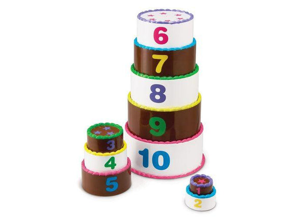 Smart Snacks® Stack & Count Layer Cake - Three LiL Monkeys Three LiL Monkeys