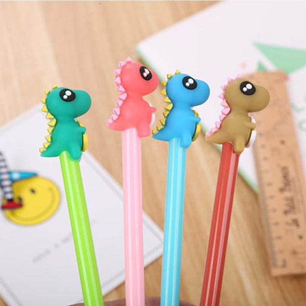 Dinosaur Gel Pen - Three LiL Monkeys Three LiL Monkeys
