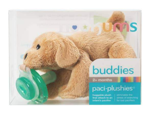 Paci-Plushies Buddies - Rufus Retriever - Three LiL Monkeys Three LiL Monkeys