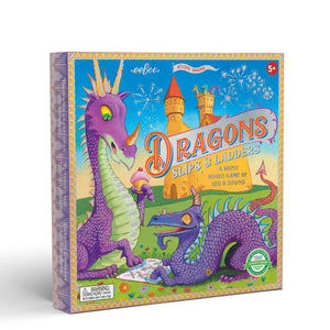 Dragon Slips and Ladders Board Game