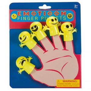 Emoticon Finger Puppets - Three LiL Monkeys Three LiL Monkeys