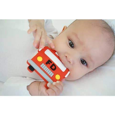 Fire Truck Teether - Three LiL Monkeys Three LiL Monkeys