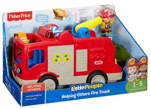 Fisher-Price Little People, Helping Others Fire Truck - Three LiL Monkeys Three LiL Monkeys