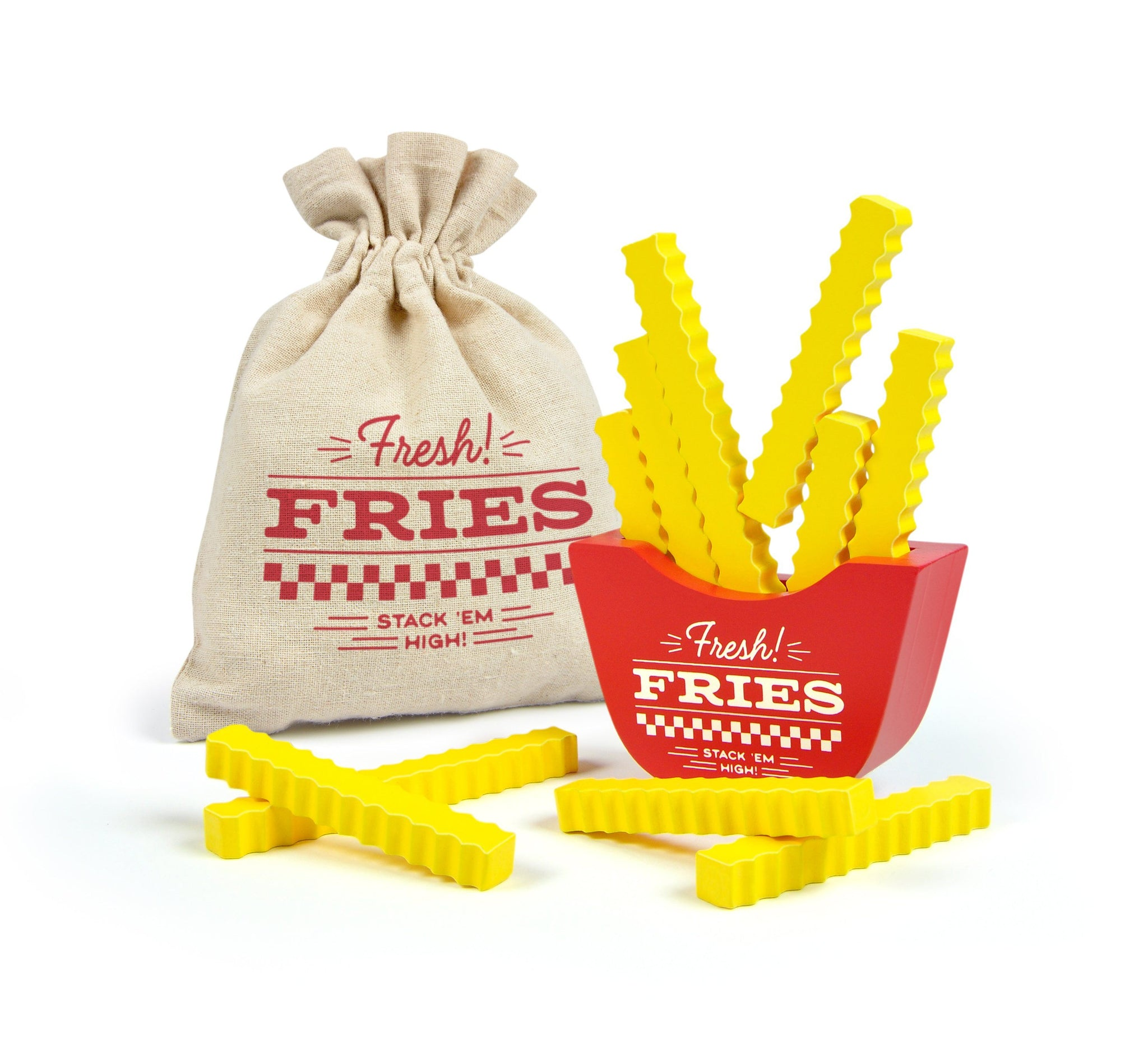 Fresh Fries Stacking Game - Three LiL Monkeys Three LiL Monkeys