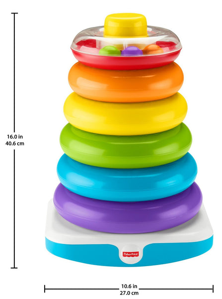 Fisher Price Giant Rock-A-Stack - Three LiL Monkeys Three LiL Monkeys