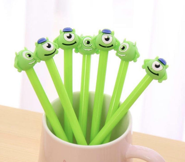 Little Green Monster Gel Pen - Three LiL Monkeys Three LiL Monkeys