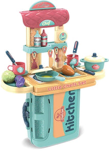 Chef Kitchen Playset in a Case