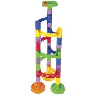 Marble Run, 37 pieces - Three LiL Monkeys Three LiL Monkeys