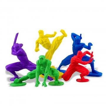 Maniac Monkey's Ninja Erasers - Three LiL Monkeys Three LiL Monkeys
