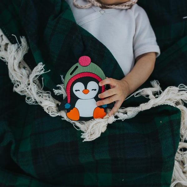 Silli Chews Penguin Teether