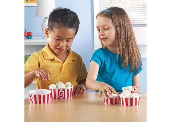 Smart Snacks® Count 'em Up Popcorn - Three LiL Monkeys Three LiL Monkeys