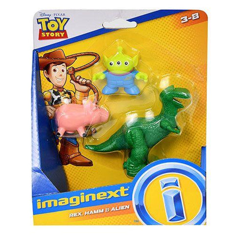 Fisher Price Toy Story™ Basic Rex, Ham & Alien - Three LiL Monkeys Three LiL Monkeys
