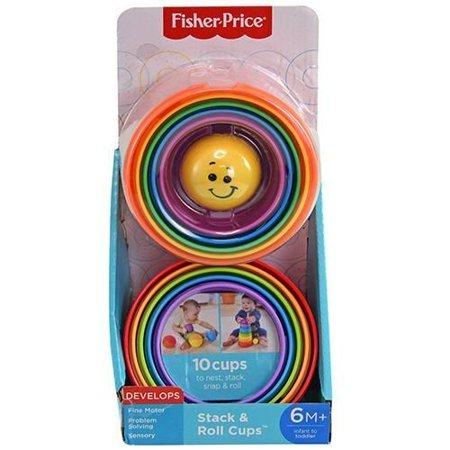 Fisher Price Stack and Roll Cups - Three LiL Monkeys Three LiL Monkeys