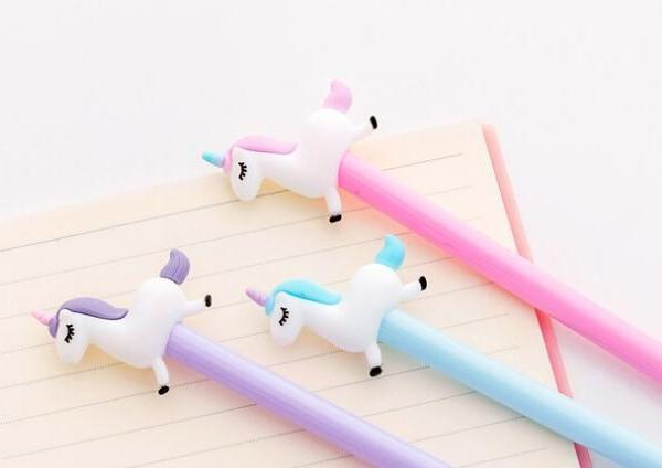 Unicorn Gel Pen - Three LiL Monkeys Three LiL Monkeys