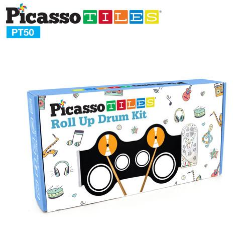 Picasso Tiles Roll Up Drum Set - Three LiL Monkeys Three LiL Monkeys