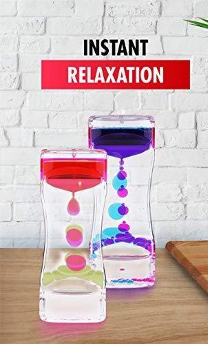 Liquid Motion Bubble Timer with Stretchy Rope - Three LiL Monkeys Three LiL Monkeys
