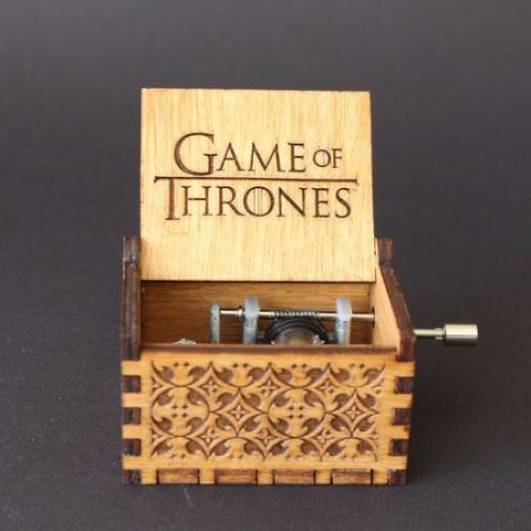 Game of Thrones Hand Crafted Music Box - Perfect Gift Idea