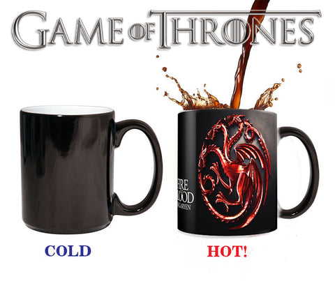 Fire and Blood Magic Mug- Red