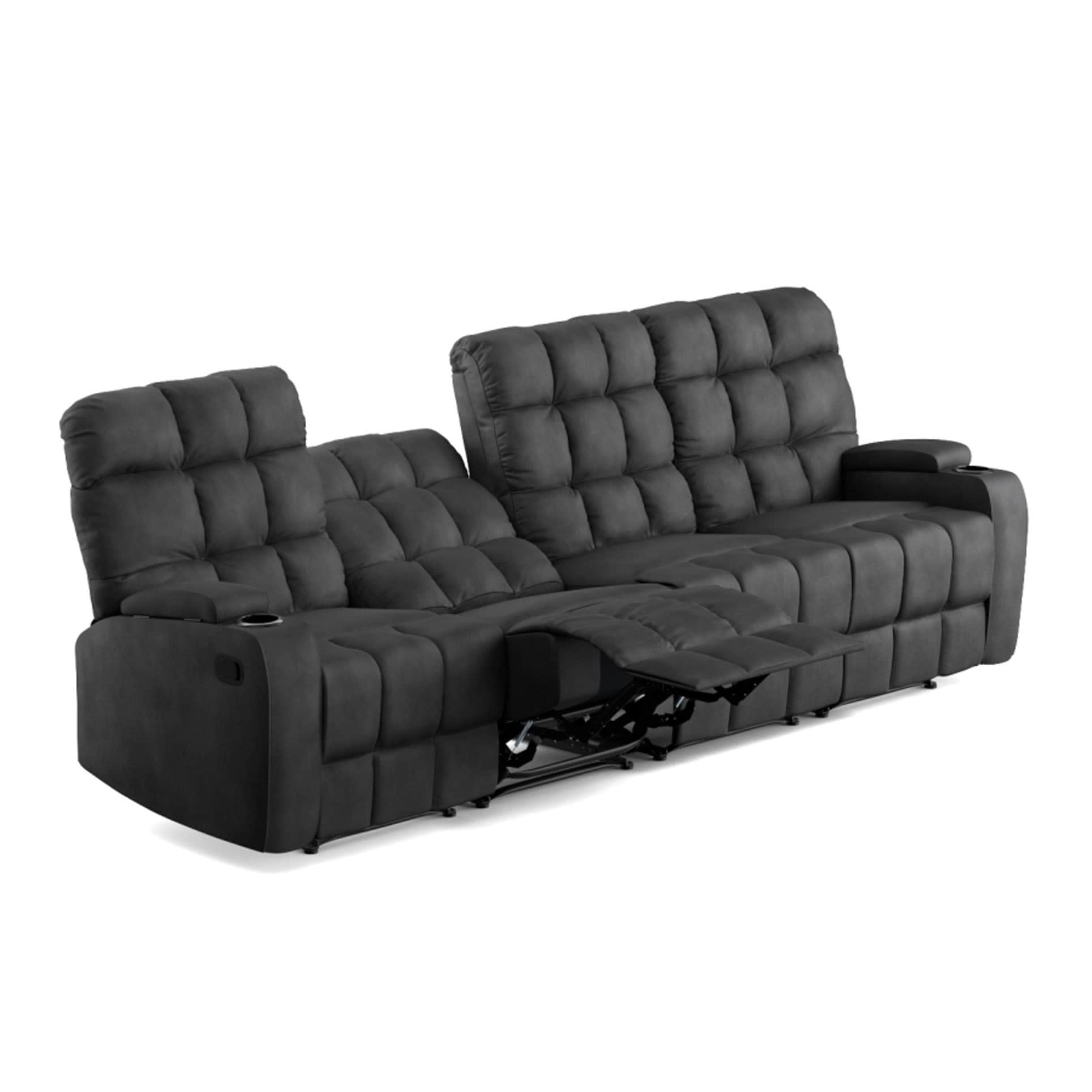 g sofa leather double plan recliner tr firth seater electric in