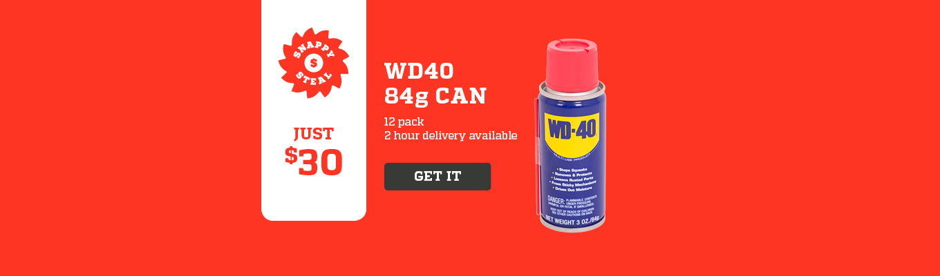 Snappy Steals WD-40