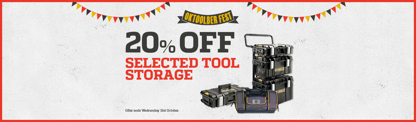 Home Banner - 20% off Tool Storage