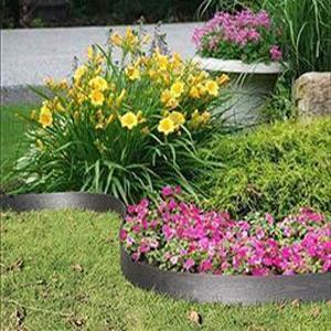 135mm x 15m Bordura WPC Garden Edging with Stakes Black