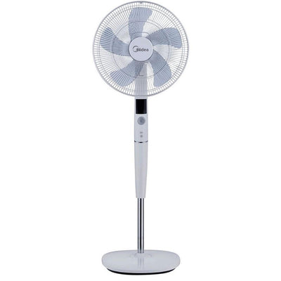 26 Speed Pedestal Fan with Remote Control White