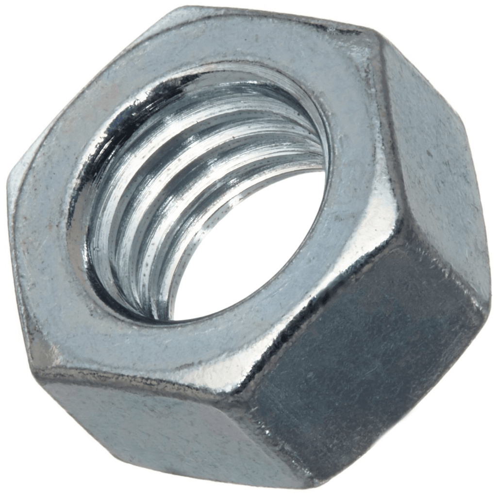 8mm 8.8 Zinc Plated Hex Nut 10 pack