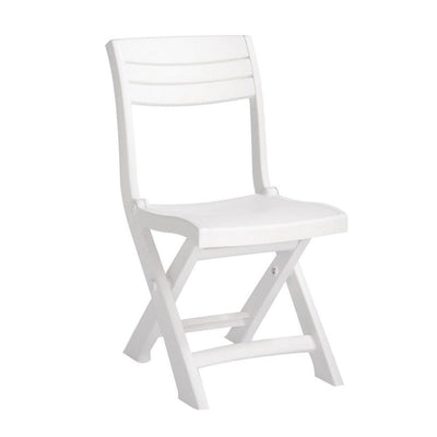 Tacoma Bistro Foldable Chair White