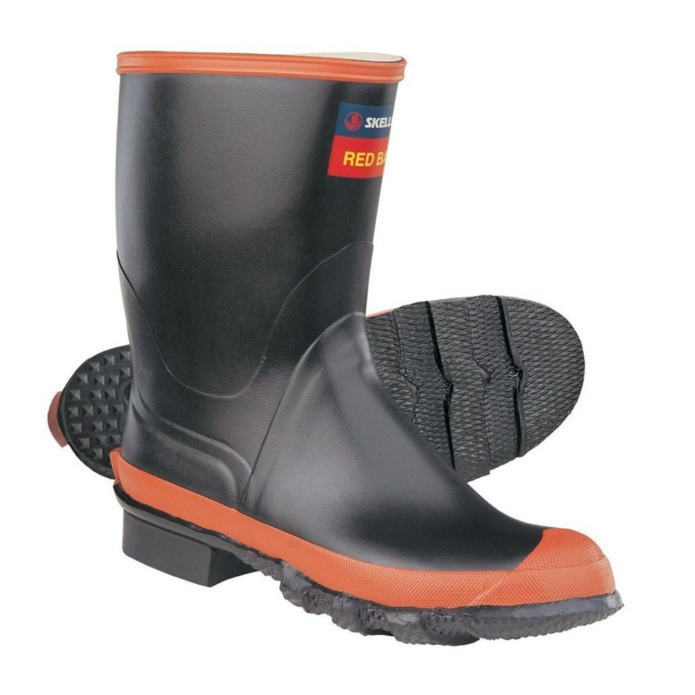 Red Band Calf Length Men's Gumboot
