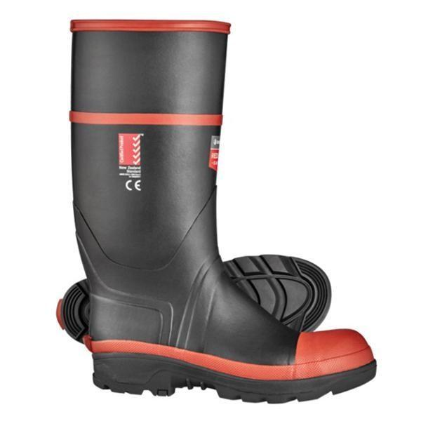 Classic Safety Gumboot Black