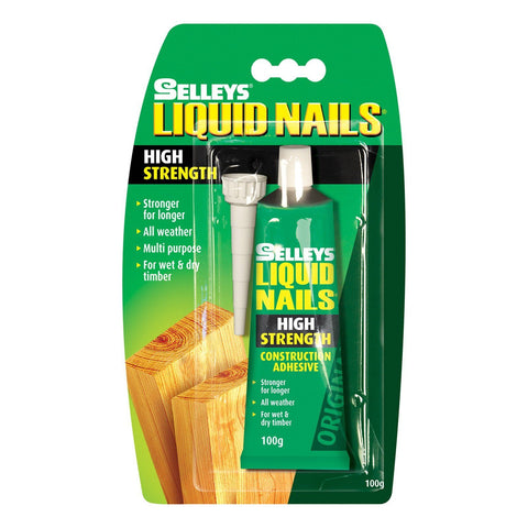 100g Cartridge Liquid Nails Construction Adhesive