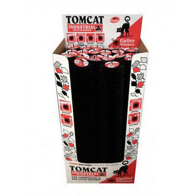 Black Gutter Whiskers Tomcat Industrial Gutter Guard Brush