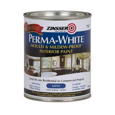 Zinsser Perma-White 1L Mould & Mildew-Proof Interior Paint White