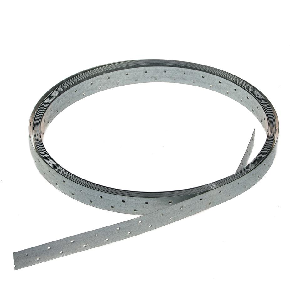 10m x 25mm Galvanised Strip Brace Without Tensioner