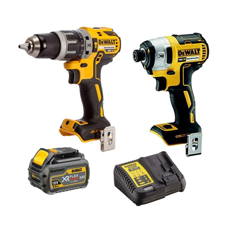 2-Piece 54V 6Ah Flexvolt XR Lithium-Ion Cordless Combo Kit